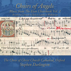 Timothy Murphy Bass Baritone hoirs of Angels: Music from the Eton Choirbook, Vol. 2