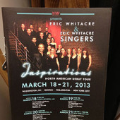 Eric Whitacre Singers Inspirations Tour